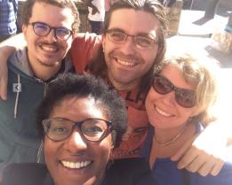 Quentin Testard, Timothée Virgoulay, Bridlin Barckmann and ASFL